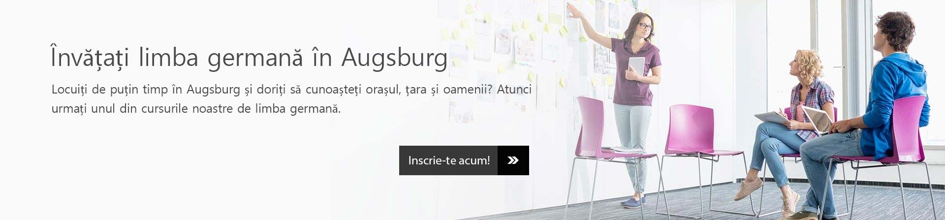 Învățați limba germană în Augsburg