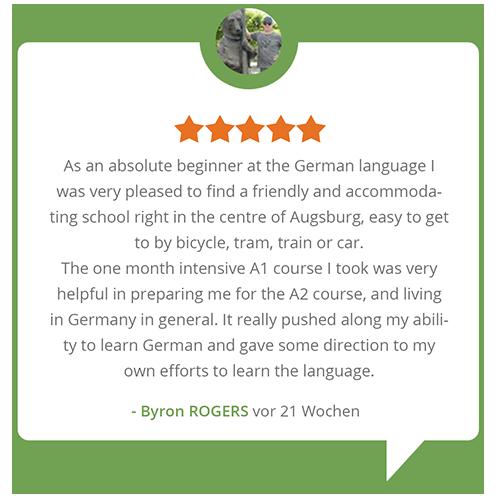 Bewertungen Sprachschule Aktiv Augsburg