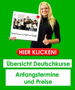 Deutschkurse in Frankfurt - Preise und Termine