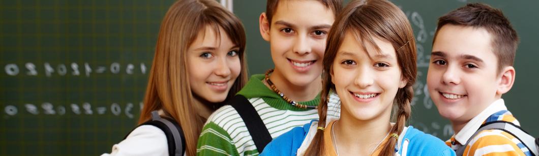 Kinder und Junge Detusch lernen in Freising