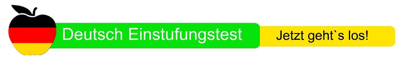 Deutsch Einstugunstest in der Sprachschule Aktiv Nürnberg