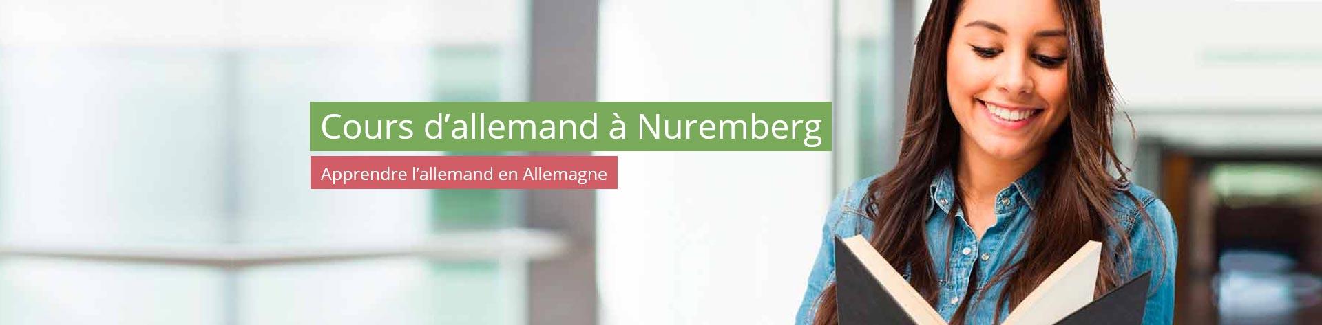 Cours d'allemand à Nuremberg – Apprendre l'allemand en Allemagne