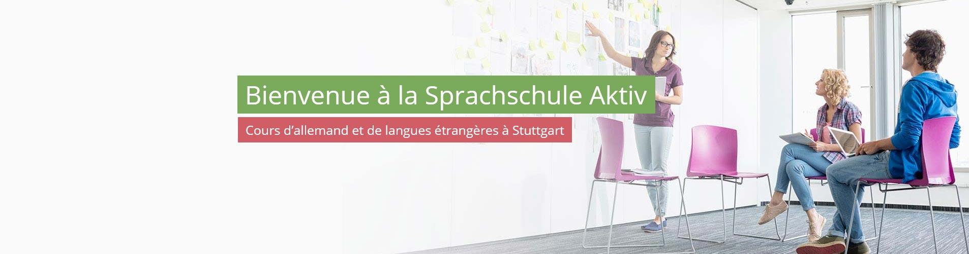 Une école de langue pour apprendre l'allemand - Stuttgart
