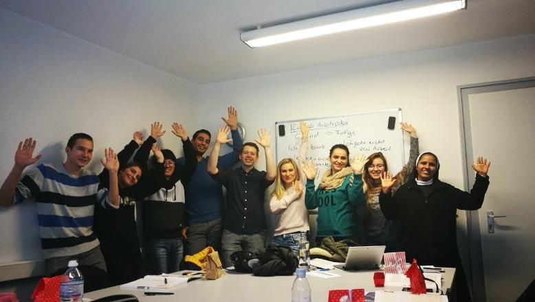 La școala de limbi Aktiv din Stuttgart