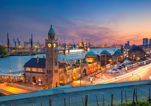 uczyć się niemieckiego w Hamburgu