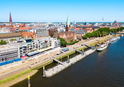 uczyć się niemieckiego w Bremie