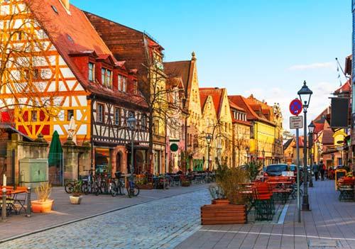 uczyć się niemieckiego w Fürth