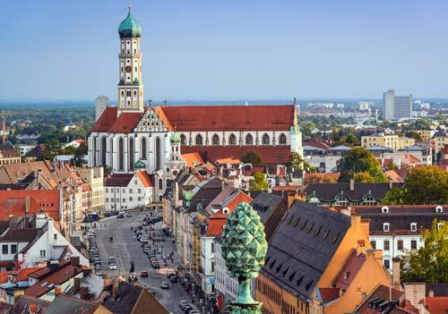 uczyć się niemieckiego w Augsburgu